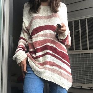 Vince camuto oasis bloom sand drift l NWT sweater